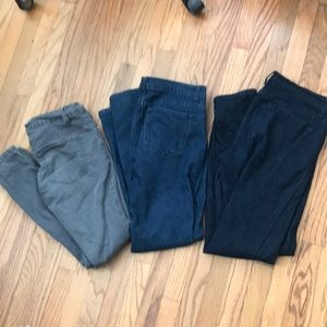 3 pairs Of skinny jeans size 27 & size 28